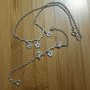 Other - Silver Sapphire Set